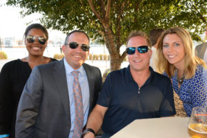 Pictured (LtoR) Roberta King, Fidelity Investments branch service manager; Michael Pizzitola, Fidelity Investments vice president/branch manager; Christopher Daniell, Simpson of Maryland estimator; and Brittany Chucker, Canon account executive