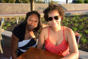 Pictured (LtoR) Candice Salter, Baltimore City Public Schools educator; and Sunni Gilliam, Teavolve co-owner