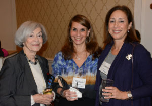 Pictured (LtoR) Joan Sobkov, retired psychologist; Dr. Michele Shermak, Lutherville-based plastic surgeon; and Tammy Heyman, American Office account executive