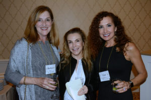 Pictured (LtoR) Barbara Hyatt, Maryland Center for Oral Surgery & Dental Implants financial director; Ellen Plant, community volunteer; and Elise Rubenstein, Jewish Women's Giving Foundation chair