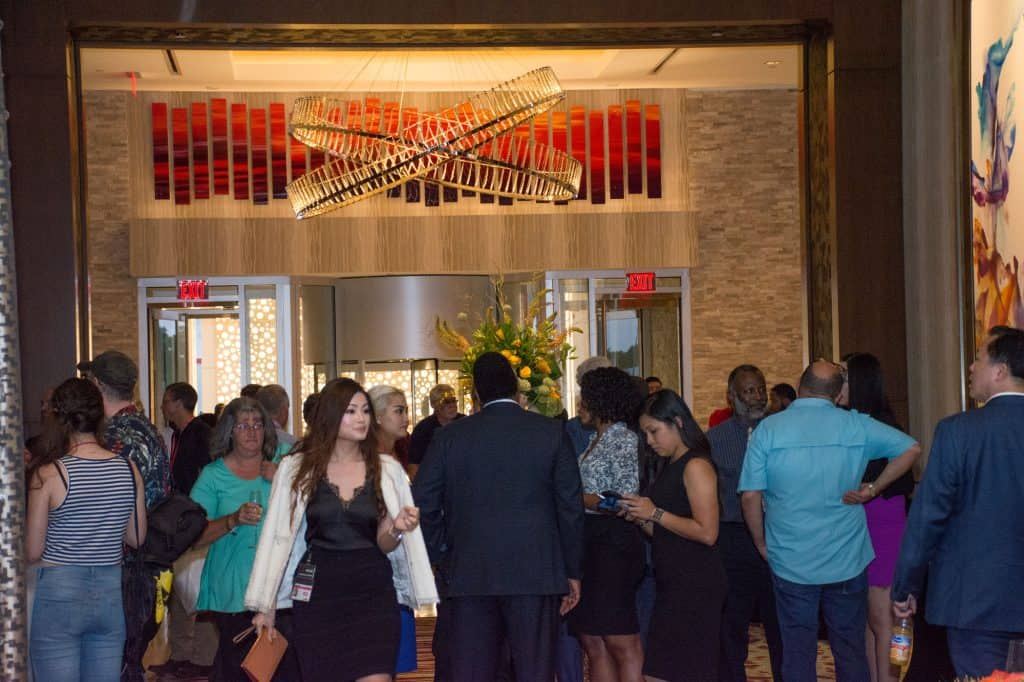 live casino hotel grand opening