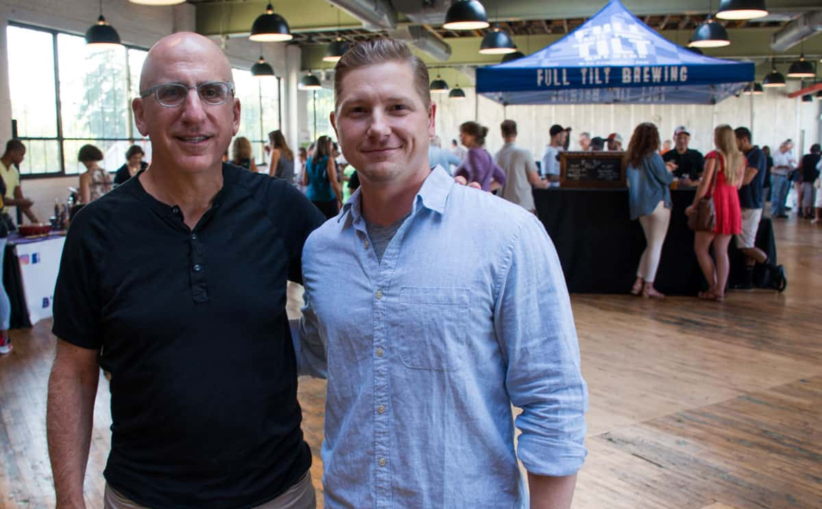 Pictured (LtoR) B-More Kitchen co-founders: Jonathan Fishman and ...