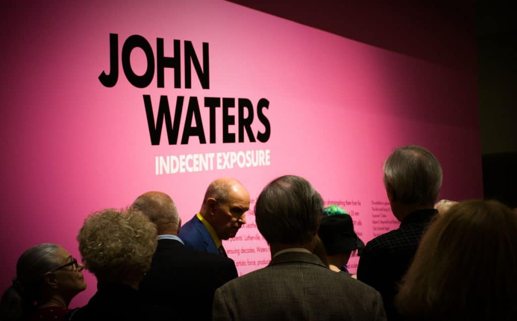 John Waters: Indecent Exposure – BMA Members Preview Party