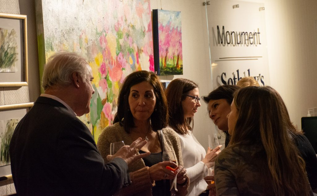 Mary Beth Marsden Art Exhibition Opening