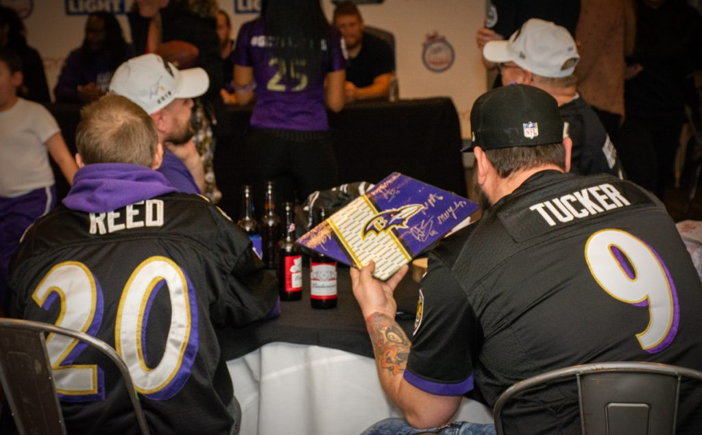 Ravens Playoff Party & Signing Event